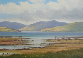 [ Low_Tide_Dingle_Co_Kerry.jpg:  Low Tide Dingle Co Kerry<BR>Oil On Linen Board 10
