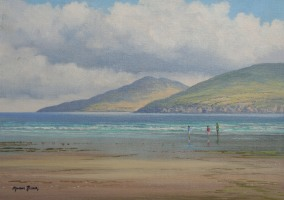 [ On_Inch_Strand_Co_Kerry.jpg:  On Inch Strand Co Kerry<BR>Oil On Linen Board 10