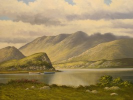 [ img096.jpg:  Upper Lake Killarney, Co Kerry<BR>Oil on Canvas 18 x 24 ]