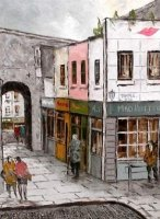 [ temple_bar_dublin_14_10_367_500_large.jpg:  Temple Bar Dublin<BR>Oil on Canvas 10 x 14 Sold ]
