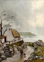 [ the_road_to_renvyle_cliften_co_galway_14_10_357_500_large.jpg:  The road to Renvyle Clifden, Co Galway<BR>Oil on Canvas 10 x 14 Sold ]