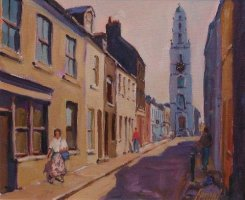[ P1010021_large.jpg:  Shandon, Cork City<BR>Oil on Board 12 x 10 ]