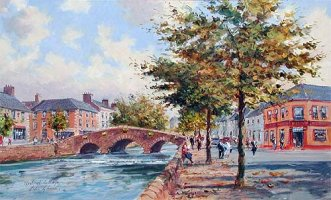 [ westport_mayo.jpg:  Westport, Co Mayo<BR>Oil on Board 26 x 17 - SOLD ]