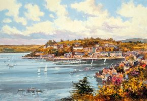 [ kinsalescillyother.jpg:  Ardbrack looking across to the Pier Road Kinsale Co Cork<BR>Print 8 x 10 ]