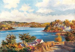 [ kinsalesummercove.jpg:  From Charles Fort looking into Summercove and Kinsale Co Cork<BR>Print 8 x 10 ]