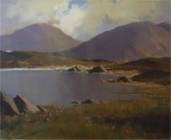[ Dscn0361.jpg:  Loch Bawn, Co Donegal<BR>Oil on Canvas 24 x 20 ]