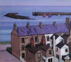 [ P6270044_large.jpg:  Donaghadee Co Down<BR>Oil on Board 14 x 16 ]