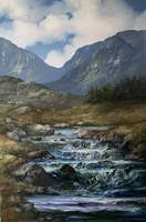 [ 12IMG_1451.jpg:  Barnanoraun Clifden Connemara Co Galway<br>Oil on Deep Edged Canvas 36