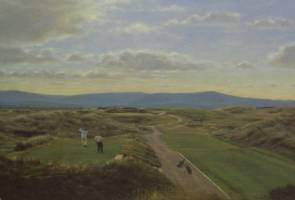[ Dscn0610.jpg:  Waterville Co Kerry 12th hole<BR>print (limited edition) ]