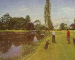 [ Dscn0612.jpg:  K club, Co Kildare, 7th hole<BR>print (limited edition) ]
