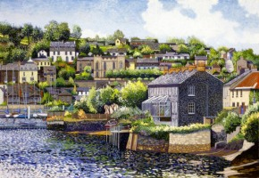 [ 3The_Scilly_Kinsale_Co_Cork.jpg:  The Scilly Kinsale Co Cork<BR>Giclee Prints ,Signed ,Numbered and Limited Edition of 30.  15