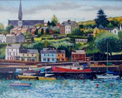 [ DSC02404.jpg:  Crosshaven, Co Cork<BR>Pastel  9 x  7 ]