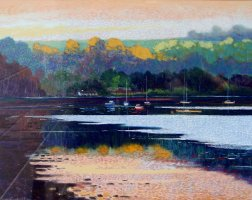[ DSC02408.jpg:  The Owenboy, Co Cork<BR>Pastel  9 x  7 ]