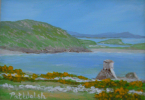 [ DSCN0742.jpg:  Barley Cove, West Cork <br> Oil on Board 2 1/2