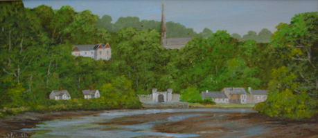 [ DSCN0746.jpg:  Glanmire, Cork City <br> Oil on Board 4