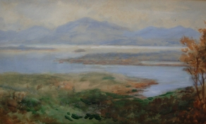 [ Kenmare_Bay_CoKerry.jpg:  Kenmare Bay, Co Kerry<BR>Watercolour 10 x 17 ]