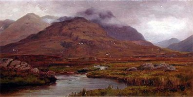 [ connemara_co_galway.jpg:  Connemara, Co Galway<BR>Oil on Board 24 x 14 - Sold ]